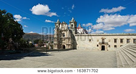 Basilica Of Our Lady Of Solitude In Oaxaca De Juarez, Mexico