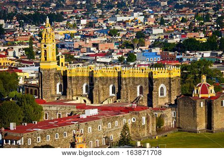 Convent Of San Gabriel In Cholula, Mexico