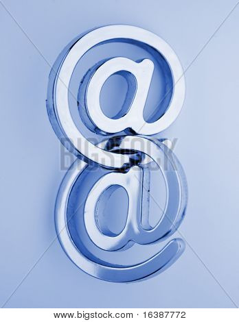 электронной почты символы