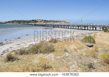 Victor Harbor Jetty, Fleurieu Peninsula, South Australia