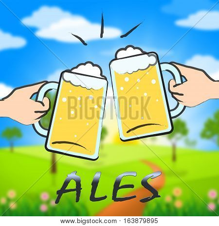Ales Beer Shows Public House And Taverns
