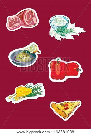 vegetables, food, market, natural, eat, garlic, pepper,