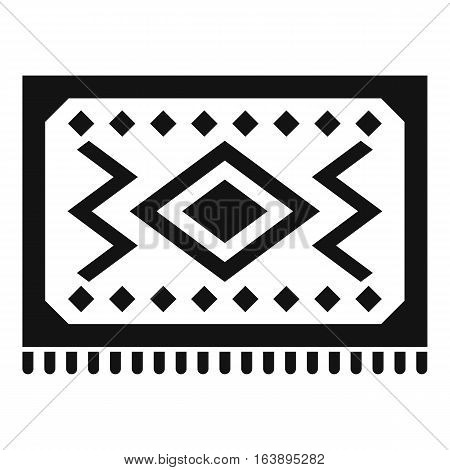 Turkish carpet icon. Simple illustration of Turkish carpet vector icon for web