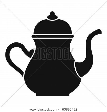 Traditional Turkish teapot icon. Simple illustration of traditional Turkish teapot vector icon for web