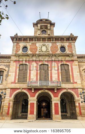Parliament of Catalonia , Barcelona , Catalonia Spain