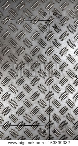 Anti Slip Metal Sheet Floor .