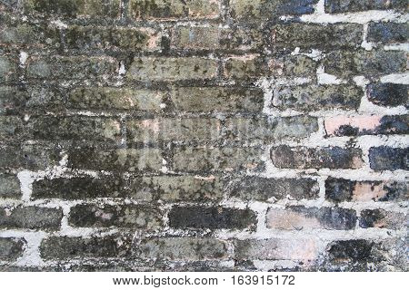 Old Background of brick wall pattern texture