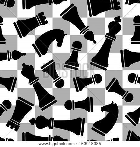 Seamless Vektor Pattern - Chess