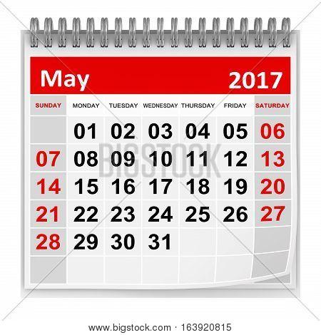 Calendar - May 2017