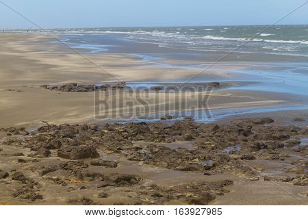 Mod, Sand And Waves In Cassino Beach