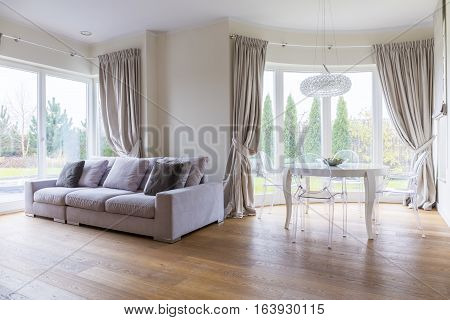 Glamour Living Room Interior