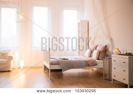 Room With Decorative Lighting