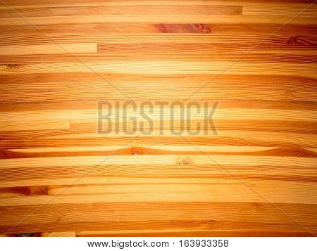 Pattern and texture of curved wooden background