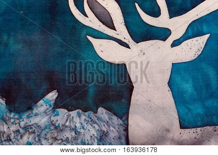 Deer And Mystic Mountains, Fragment
