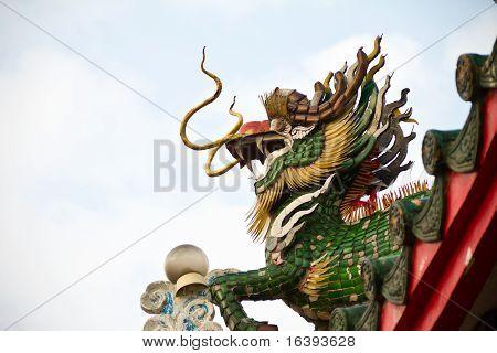 Dragon (Kylin, Kirin, Kilen) Sculpture.