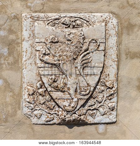 Historic Relief In Florence, Italy