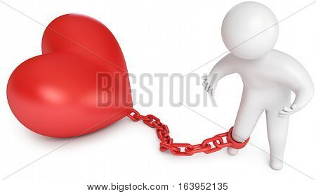 Man Chained To The Heart, Love Prisoner