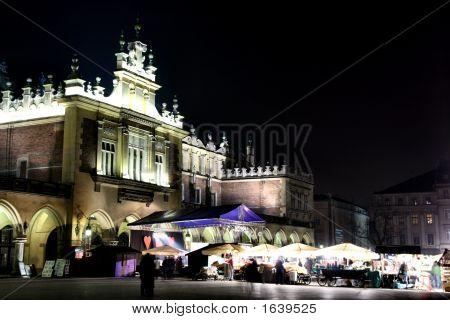 Krakow - Vivid City At Night