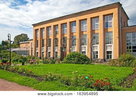 SAINT-PETERSBURG, RUSSIA, AUGUST 3, 2016: Botanical Museum in Peter the Great Botanical Garden (Botanic Gardens of the Komarov Botanical Institute of the Russian Academy of Sciences)