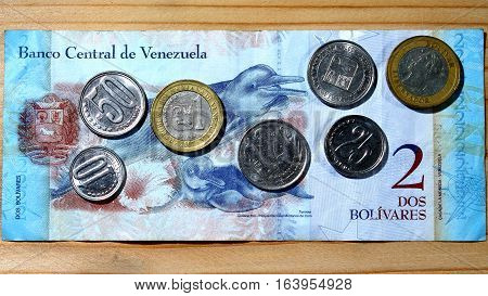 Economic crisis in Venezuela - weakening currency - cheap oil