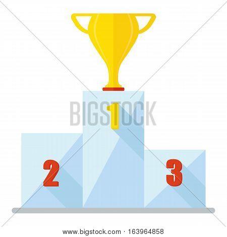 Podium Cup Winner Icon