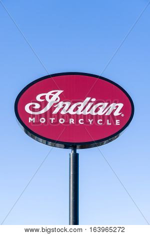 Indian Motorcyle Sign And Logo