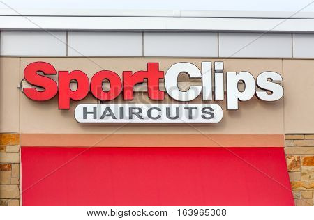Sportclips Haircuts Exterior And Logo