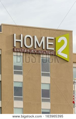 Home2 Suites By Hilton Exterior And Logo