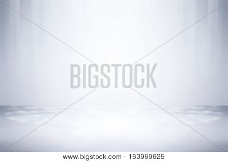 3D illustration background / Abstract gray empty room studio gradient used for background and display your product