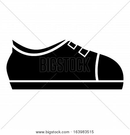 Sport sneakers icon. Simple illustration of sport sneakers vector icon for web