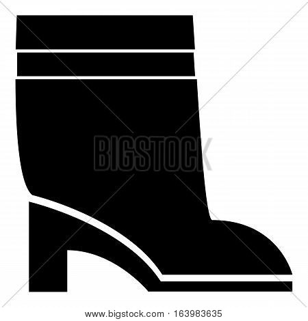 Women boots icon. Simple illustration of women boots vector icon for web