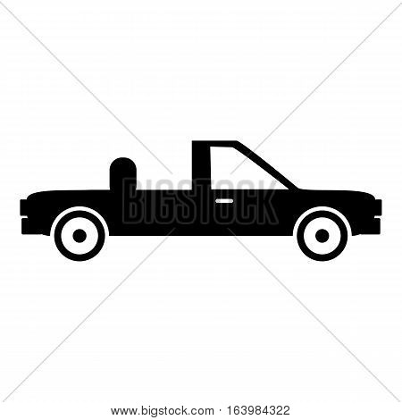 Pickup icon. Simple illustration of pickup vector icon for web