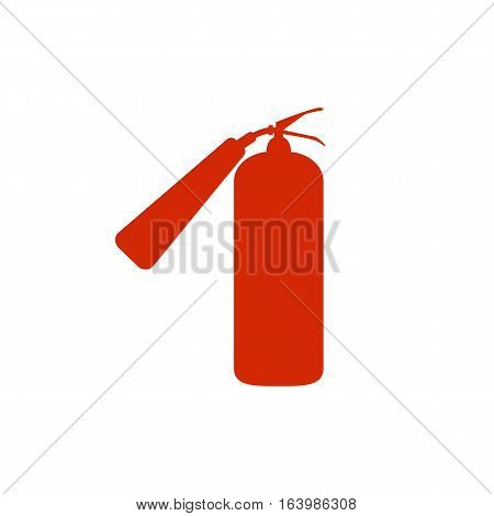 fire extinguisher icon illustration. fire extinguisher sign.