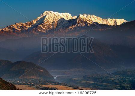 Annapurna mountain, Sarangkot, Nepal