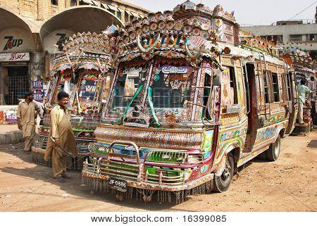 Pakistani local buses