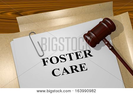 Foster Care - Legal Concept