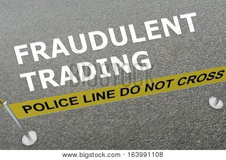 Fraudulent Trading Concept