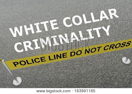 White Collar Criminality Concept