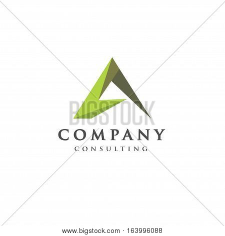 Best letter A logo concept, Letter A strong and creative logo concept, creative letter A concept design