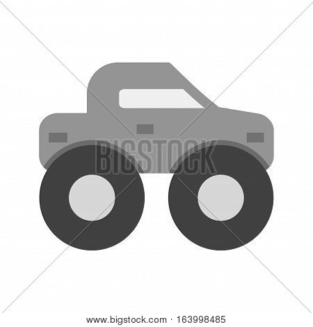 Truck, monster, offroad icon vector image. Can also be used for vehicles. Suitable for use on web apps, mobile apps and print media.