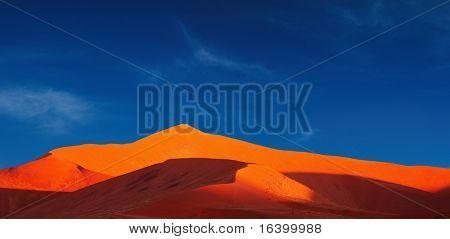 Dunes of Namib Desert. Sossusvlei, Namibia