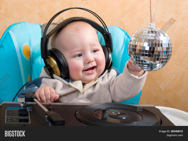 Baby Headphones Image & Photo (Free Trial)   Bigstock