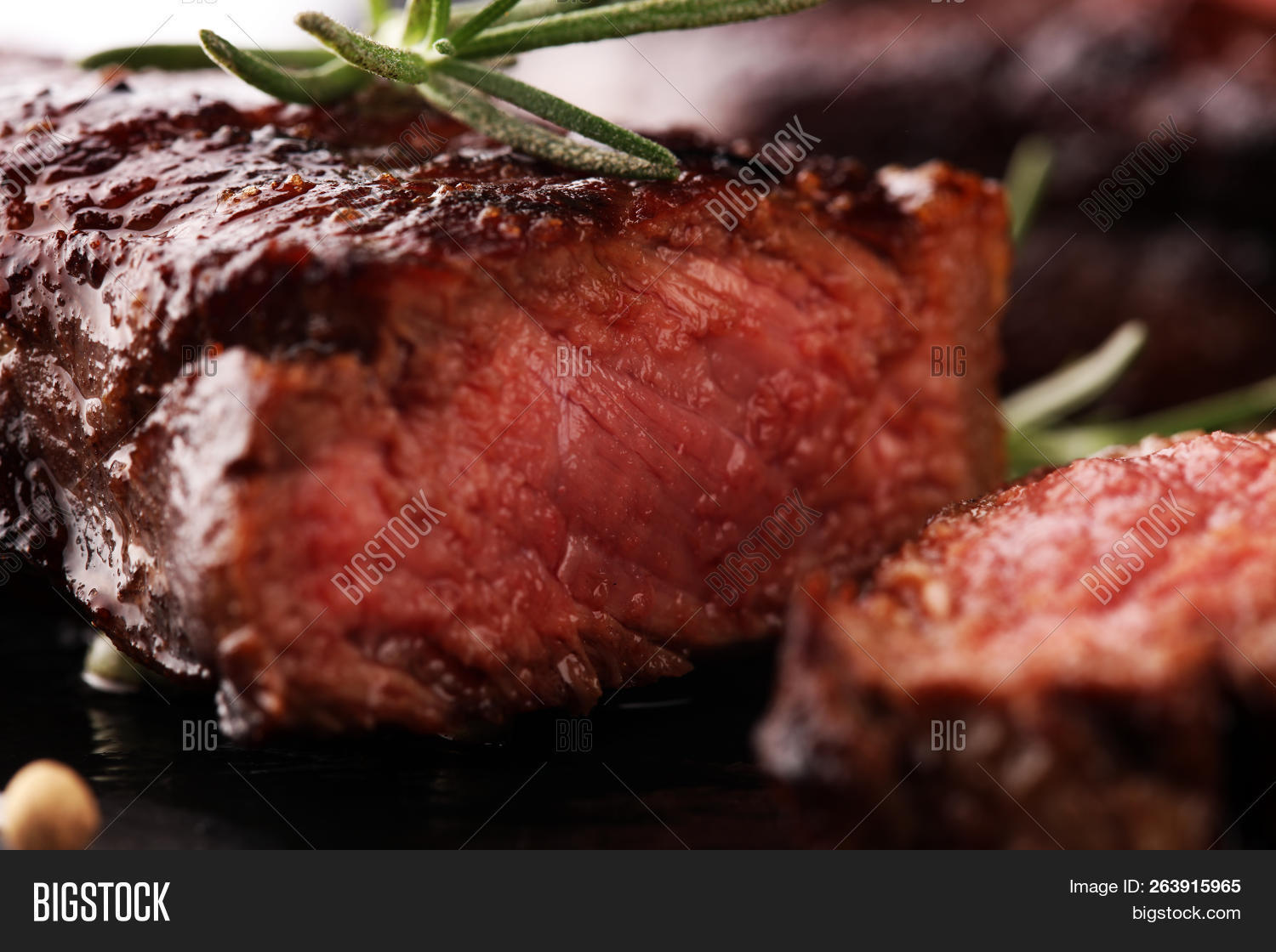 Barbecue Rib Eye Steak Image & Photo (Free Trial) | Bigstock