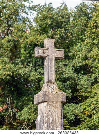 Sentier Des Oratoires, Etoile Saint Simon In Saint Germain Forest, France. It Was Erected In Year 16
