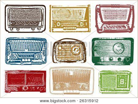 Jahrgang Radio Vektor