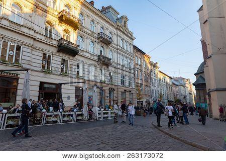 Lviv City View, Ukraine