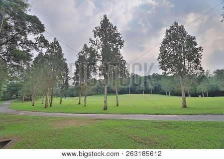 A Country Club Golf Course In Hong Kong