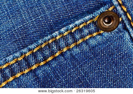 Denim background with suture
