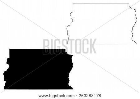 Federal District In Brazil (region Of Brazil, Federated State, Federative Republic Of Brazil) Map Ve
