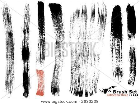 Collection Of Highly Detailed Vector Brushes - 3